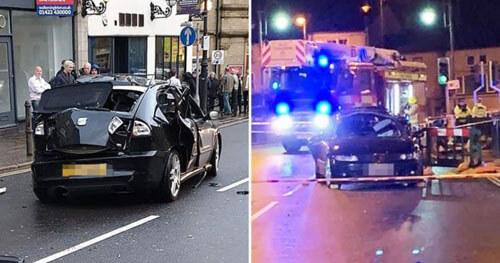 случайный взрыв автомобиля