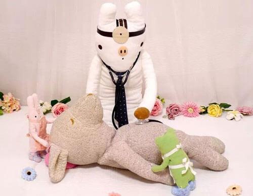 плюшевый госпиталь для игрушек