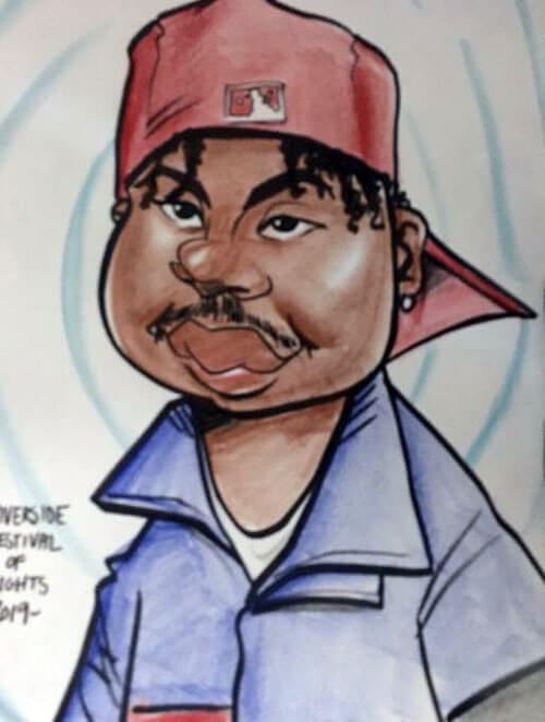 карикатурный портрет преступника