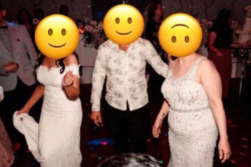 белое платье гостьи