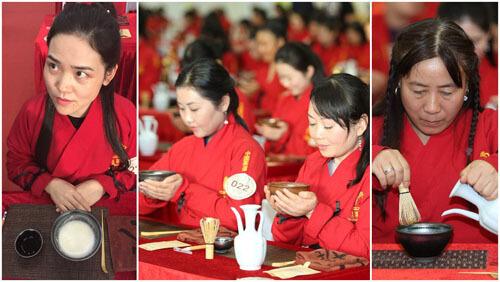массовая чайная церемония