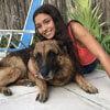 шокирующая фотосессия с собакой
