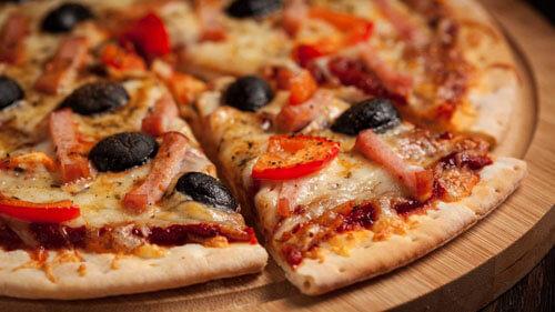 доставка пиццы за полчаса