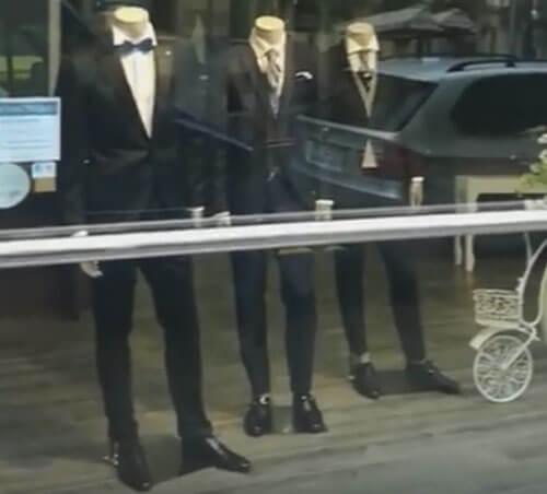 плата за примерку костюма