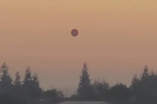 огромный сферический объект