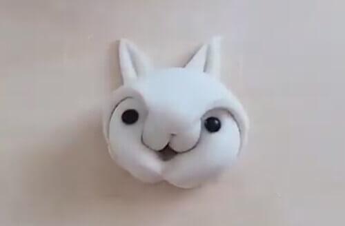 булочка в виде кролика