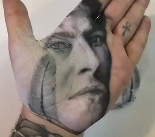 картины из отпечатков на ладонях