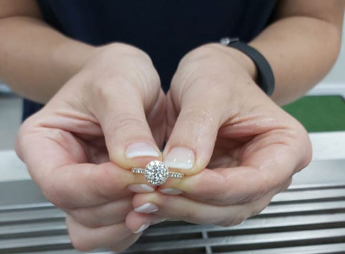 собака съела обручальное кольцо