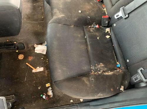 слишком грязная машина