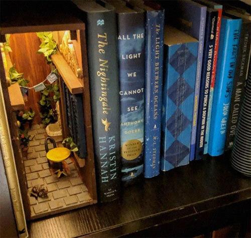 вставки для книжных полок