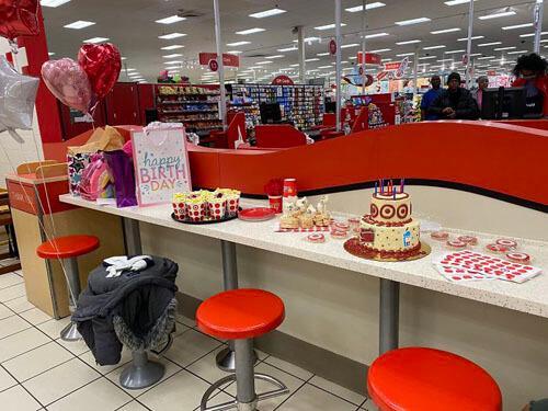 день рождения в магазине
