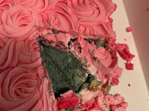 отвратительный торт с плесенью