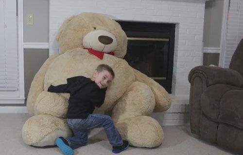 оживший плюшевый медведь