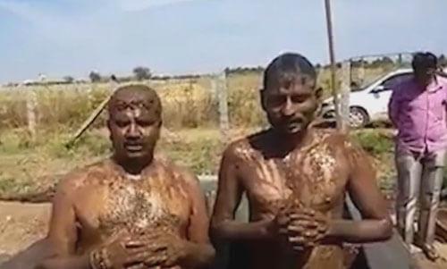 ванна из коровьего навоза