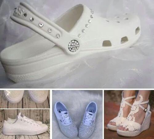 необычная обувь для свадьбы