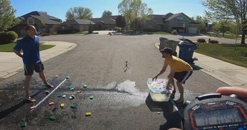 мировой рекорд с мокрыми губками