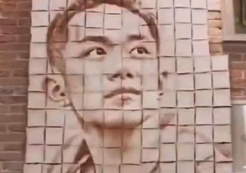 необычные материалы для портретов
