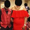 платье свекрови перекрасили
