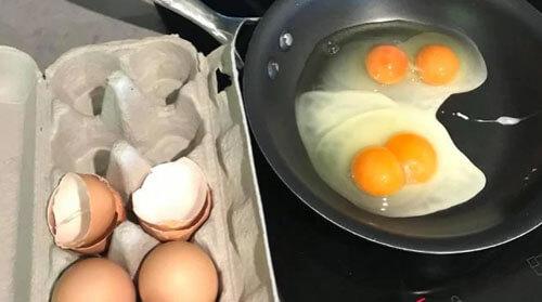 удивительная яичница на завтрак