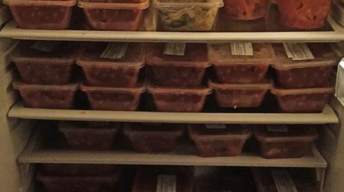 холодильник с бесплатной едой