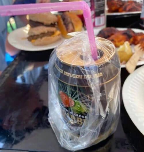 как уберечь напиток от насекомых