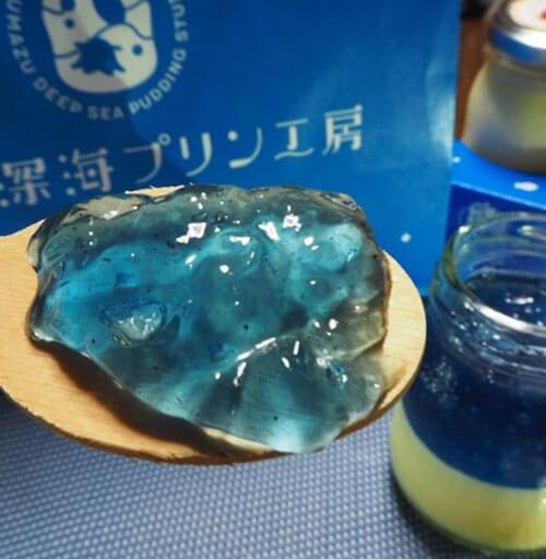 голубой глубоководный пудинг