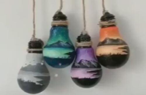 лампочки для дизайна интерьера