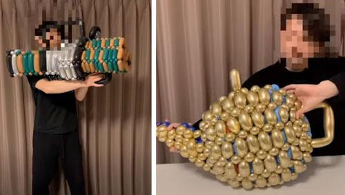 предметы из воздушных шариков