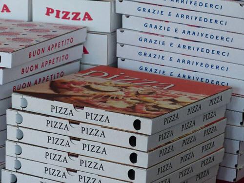 пицца которую никто не заказывал