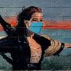 фреска со сценой из фильма