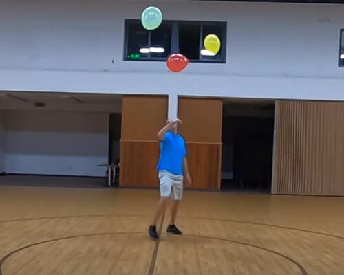 рекорд с воздушными шарами