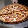 в грабителя бросили пиццей