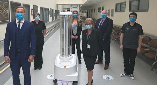 роботы в больницах против вируса
