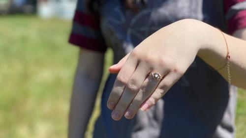 кольцо нашлось благодаря чесноку