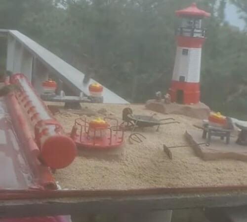 детская площадка для колибри