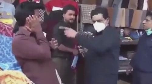торговцев без масок побили