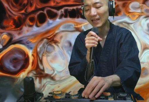 буддийские песнопения монаха