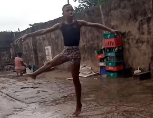 мальчик увлекается балетом