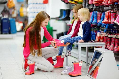 новая обувь для детей