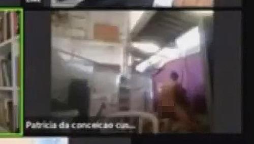неприличная сцена по видеосвязи
