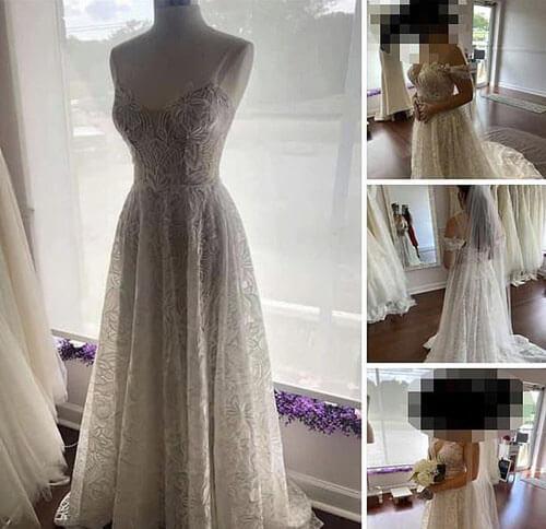 преждевременная покупка платья
