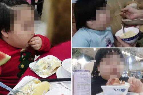 родители снимают как дочка ест