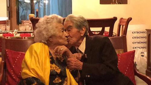 самые старые супруги в мире