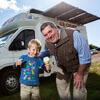 фургоны с солнечными батареями
