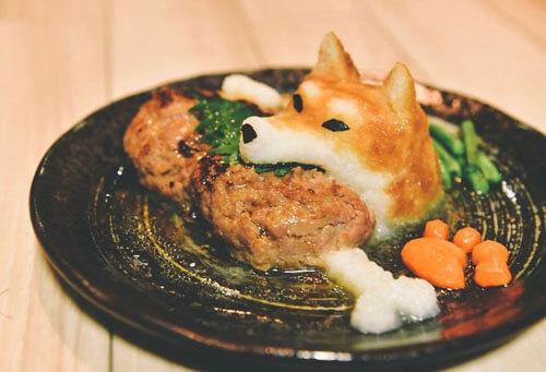 художник против скучной еды