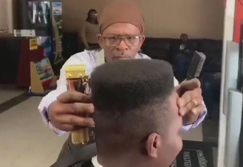 стрижка парикмахера-перфекциониста