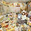 коллекция пластиковой еды