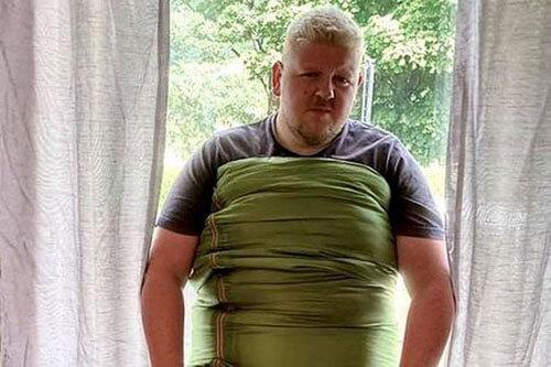 большой спальный мешок