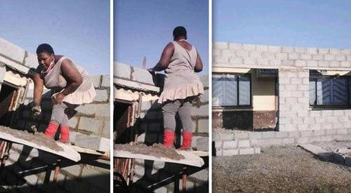 женщина сделала пристройку к дому