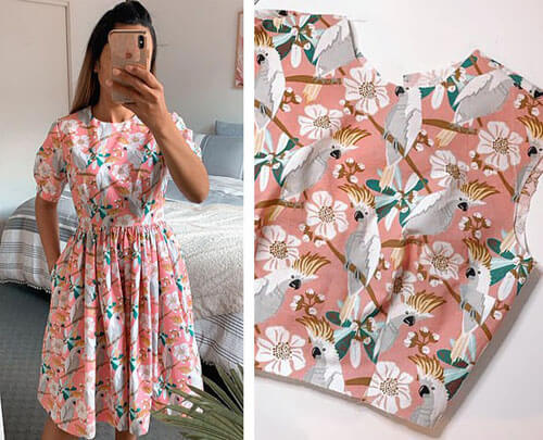 платье из кухонных полотенец